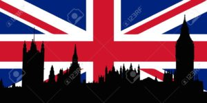 7606917-Union-Jack-with-Houses-of-the-Parliament-silhouette-on-Stock-Vector