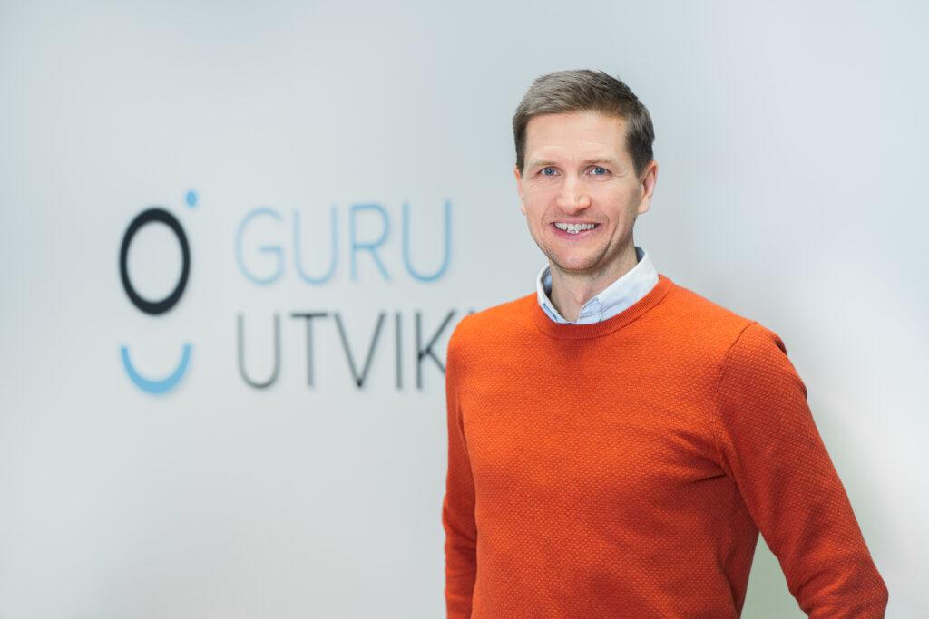 Rune Skasberg, daglig leder Guru Utvikling